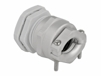 Delock Cable Gland PG29 with strain relief and bending protection grey