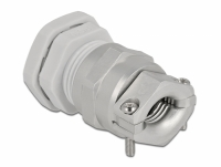 Delock Cable Gland PG16 with strain relief and bending protection grey