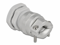 Delock Cable Gland PG13.5 with strain relief and bending protection grey