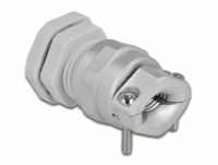 Delock Cable Gland PG11 with strain relief and bending protection grey