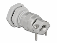 Delock Cable Gland PG9 with strain relief and bending protection grey