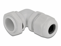 Delock Cable Gland 90° angled PG13.5 grey