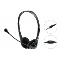 STEREO HEADSET WITH MUTE. Equip