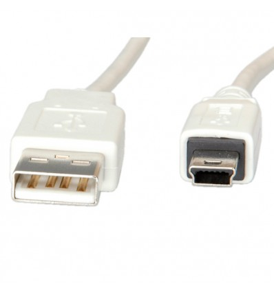 VALUE USB 2.0 Cable, Type A - 5-Pin Mini 3.0 m