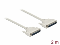 Delock Serial Cable D-Sub 37 male to male 2 m