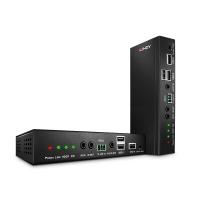 Lindy 100m Cat.6 HDBaseT HDMI 10.2G, USB, Audio, IR & RS232 KVM Extender