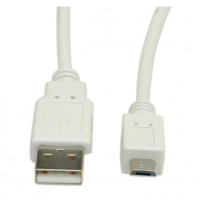 VALUE USB 2.0 Cable, USB Type A M - Micro USB B M 0.15 m