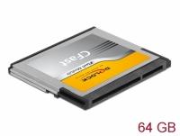 Delock CFast 2.0 memory card 64 GB MLC
