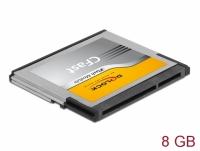 Delock CFast 2.0 memory card 8 GB MLC
