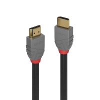 Lindy 0.5m Ultra High Speed HDMI Cable, Anthra Line