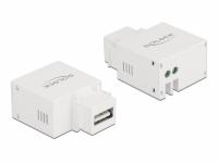 Delock Keystone Module USB Type-A Charging Port 2.1 A white