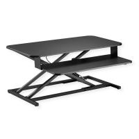 VALUE Adjustable Desktop Workstation, Sit - Stand Up, black
