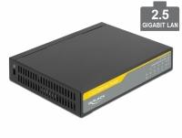 Delock 2.5 Gigabit Ethernet Switch 5 Port