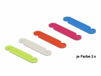 Delock Cable Marker set 10 pieces assorted colours