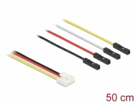 Delock Conversion IOT Grove Cable 4 x pin male to 4 x Jumper female 50 cm