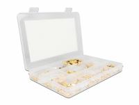 Delock Crimpbox 120 pieces 50 Ohm with SMA, SMB and RP-SMA connectors