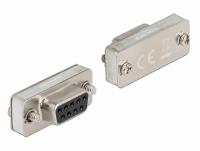 Delock RS-232/422/485 Loopback adapter mit DB9 female