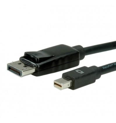 VALUE DisplayPort Cable, DP M - Mini DP M 3 m