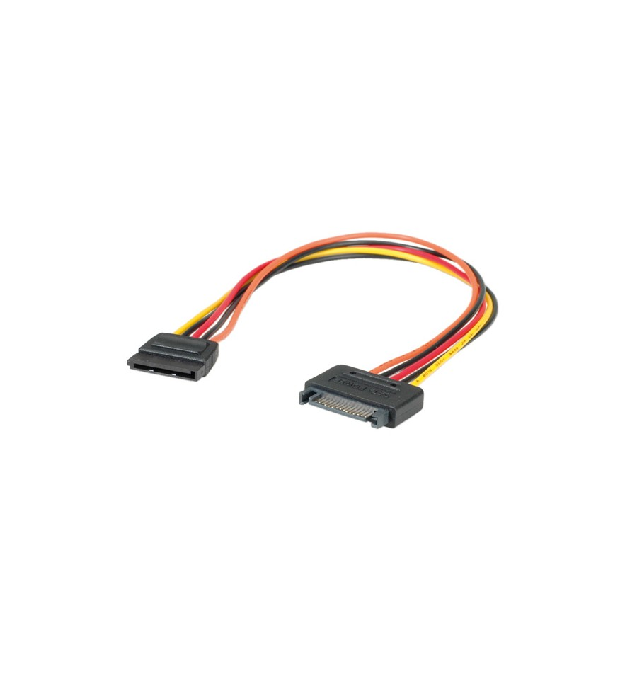 roline sata power extension cable 0 3 m