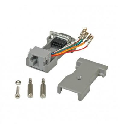 ROLINE DB9 socket - RJ-45 socket 8P / 8C 8-Wire