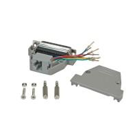 ROLINE DB25 plug - RJ-45 socket 8P / 8C 8-Wire