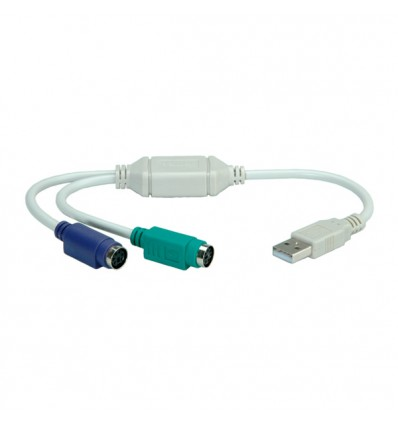 VALUE USB to 2x PS/2 Adapter Cable
