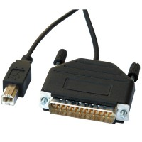 Converter Cable Parallel to USB 1.8 m