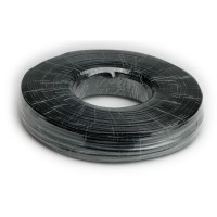 Telephone Cable, 4-wire, black 150 m