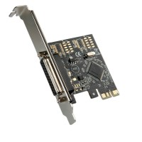 VALUE PCI-Express Adapter, 1x Parallel ECP/EPP Port