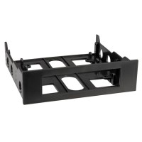 Floppy Mounting Adapter Frame, Type 3.5/5.25 black