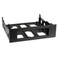 Floppy Mounting Adapter Frame, Type 3.5/5.25 black