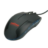 ROLINE Gaming Mouse, optical, USB black